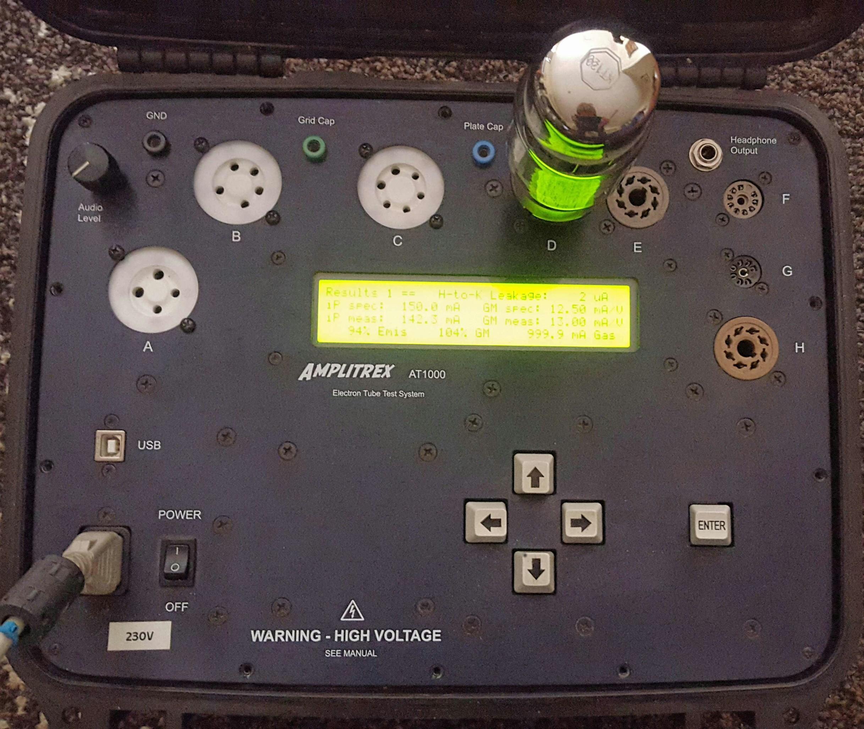 AMPLITREX AT1000 Valve Tube Testing Melbourne Australia TheValveStore