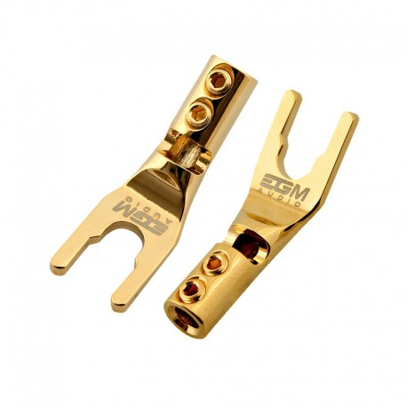 EGM Audio Spade Plug – Gold Plated