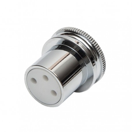 XLR Noise Stopper – Female - Rhodium
