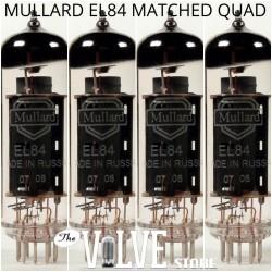 MULLARD EL84 QUAD