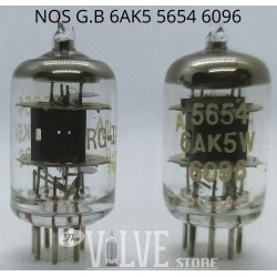 6AK5W 6090 MATCHED PAIR