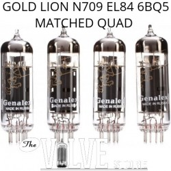 GENALEX GOLD LION N709 EL84 QUAD