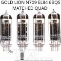 GENALEX GOLD LION N709 EL84 MATCHED QUAD