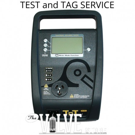 TEST AND TAG SERVICE