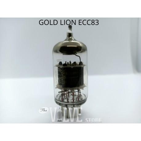 GENALEX GOLD LION NICKEL PIN 12AX7 ECC83