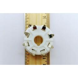 OCTAL PCB 8 PIN VALVE SOCKET