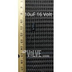 10uF 16 Volt Capacitor