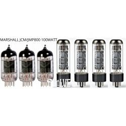 MARSHALL JCM/JMP 800 100 WATT MULLARD VALVE SET