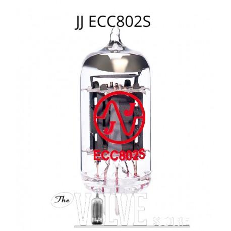 JJ ELECTRONIC ECC802S 12AU7
