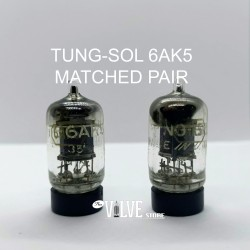 TUNG-SOL 6AK5 MATCHED PAIR