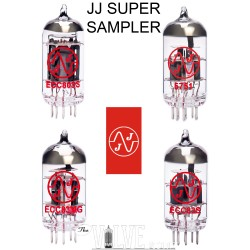 JJ 12AX7 SUPER SAMPLER